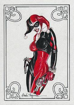 Harley Quinn by Leida  Nogueira