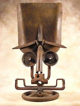 Harley Shovel Head by Chris Jaworski