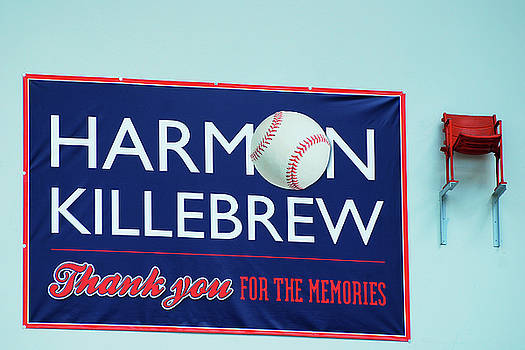 Harmon Killebrew Seat by James Kirkikis