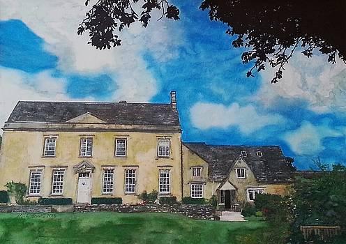 Harn Hill England by Mandy Thomas