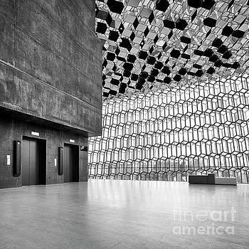 Harpa Interior, Reykjavik by David Bleeker