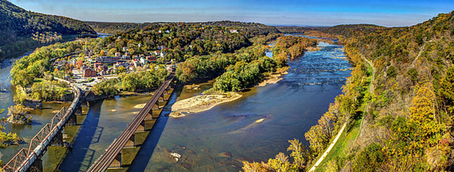 Harpers Ferry - Panorama by Andrew King