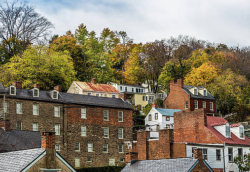 Harpers Ferry in Autumn by Ed Clark