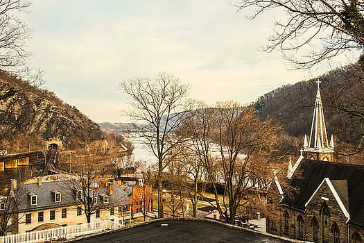 Dana Sohr - Harpers Ferry Rooftops #2
