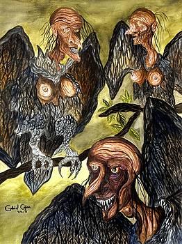 Harpies by Gabriel Cajina