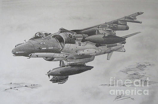 Harrier GR7 by Simon Cockett