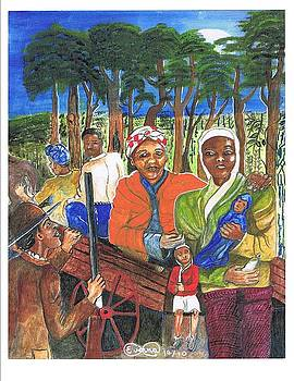Harriet Tubman-take the road only to twin forks by Everna Taylor