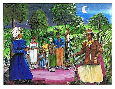 Harriet Tubman-the Family's Final Fairwell by Everna Taylor