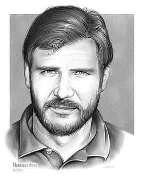 Harrison Ford by Greg Joens