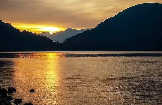 Harrison Lake, British Columbia by Heather Vopni