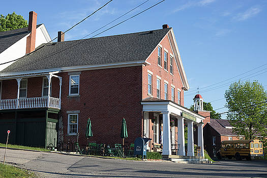 Harrisville General Store with Schoolbus by New England Photographic