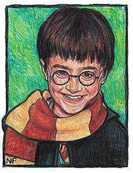Harry Potter as portrayed by Actor, Daniel Radcliffe by Neil Feigeles
