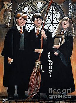 Harry Potter by Tom Carlton
