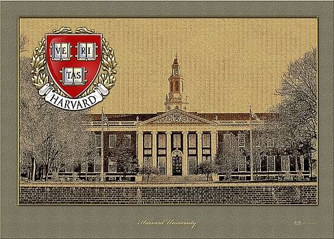 Serge Averbukh - Harvard University Building With Seal
