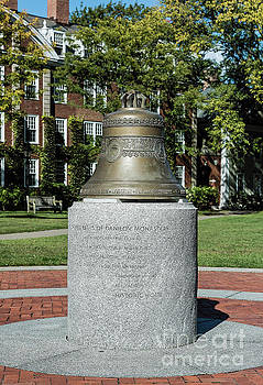 Harvard University Sacred Bell by John Greim