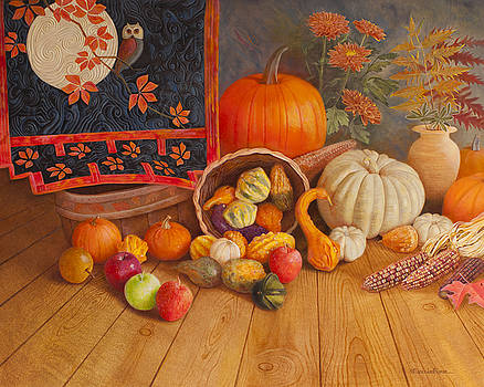 Harvest Bounty by Nancy Lee Moran