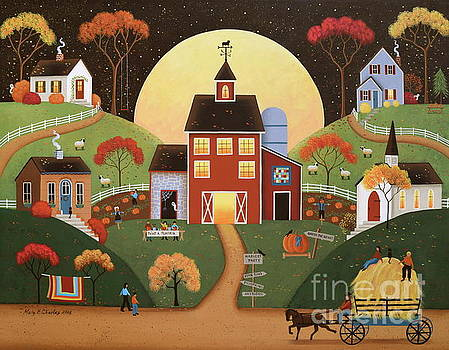 Harvest Hayride by Mary Charles