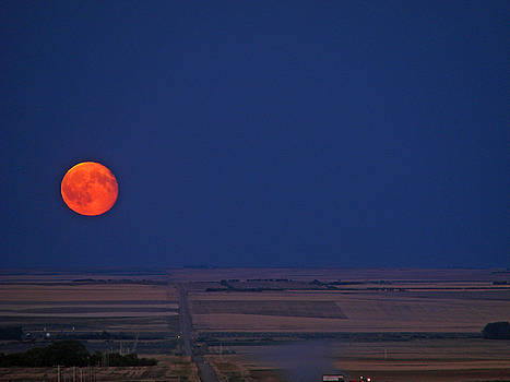 Harvest Moon by Blair Wainman