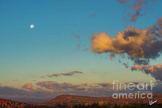 Harvest Moon Foothills by Alana Ranney