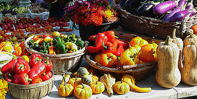 Dee Flouton - Harvest table