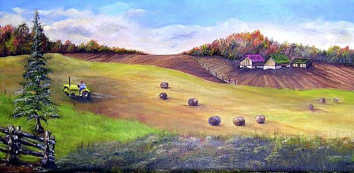 Harvest Time by Anna-maria Dickinson