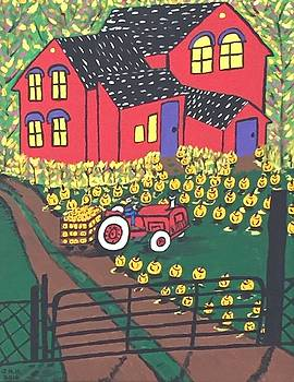 Harvest time. by Jonathon Hansen