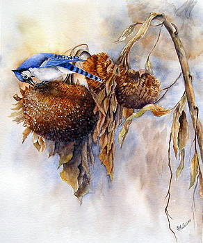 Harvesting-Blue Jay by Mary McCullah