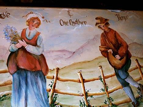 harvesting Love by Carolyn Sylvester