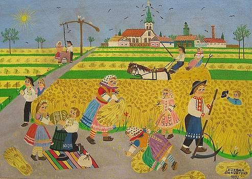 Harvesting by Zuzana Chalupova