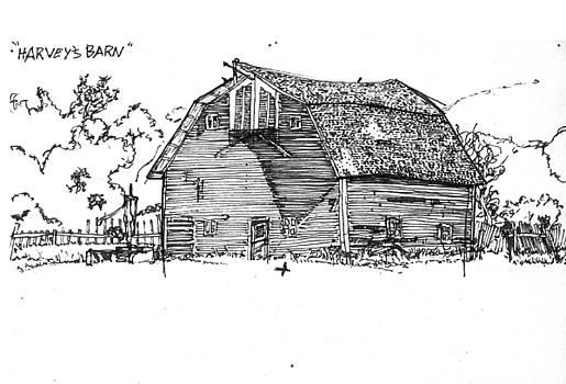 Harvey's Barn by Kevin Lenagh