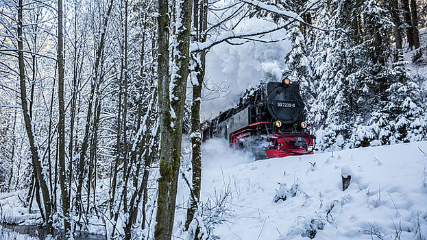 Harzquerbahn by Andreas Levi