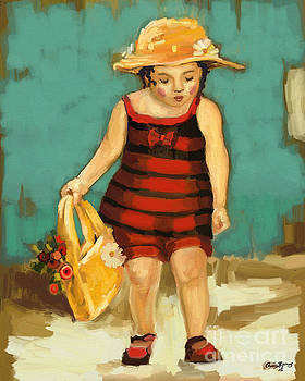 Hat and Bag by Carrie Joy Byrnes