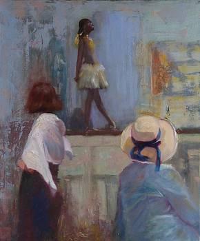 Hat and Degas by Irena  Jablonski