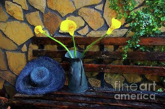 Hat And Flowers by John Kolenberg