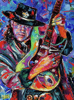 Hat And Guitar by Debra Hurd