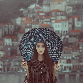 Hat And Houses by Anka Zhuravleva
