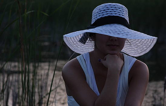 Hat at Sunset by Michelle Miron-Rebbe