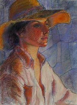 Hat Series Summer Glow by Helen Hickey