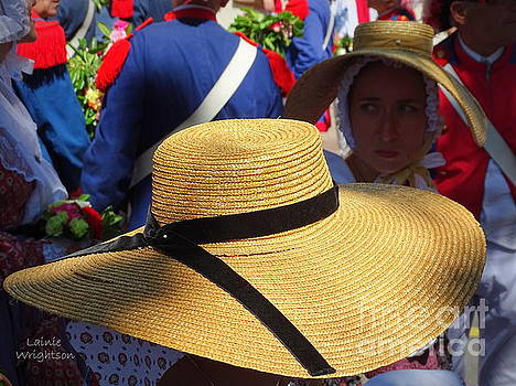 Hats in Saint Tropez by Lainie Wrightson