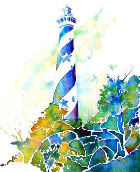 Hatteras Light House by Jo Lynch