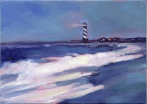 Hatteras Light One by Todd Baxter