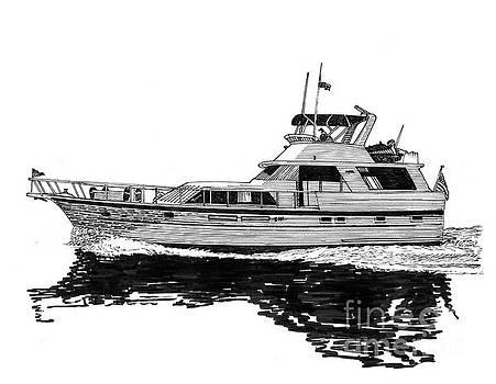 Jack Pumphrey - 58 foot Hatteras Tri Cabin Motoryacht