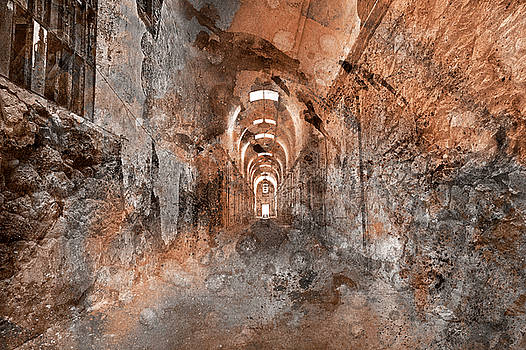 Haunted Acrylic Prison by Nicolas Raymond