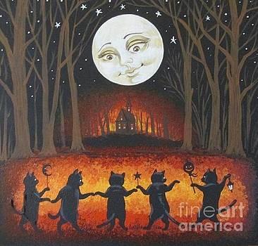 Haunted Dance by Margaryta Yermolayeva