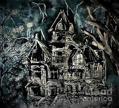 Haunted House by Crystal Schaan