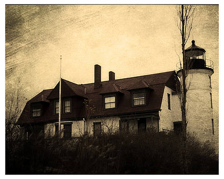 Haunted Lighthouse by J Durr Wise