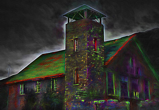 Steve Ohlsen - Haunted Old Mill 2 - Painterly Version