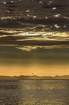 Hauraki Gulf at Sunrise by Steven Schwartzman