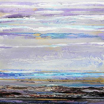 Hauxley Haven Early Morning Light Low tide II by Mike   Bell