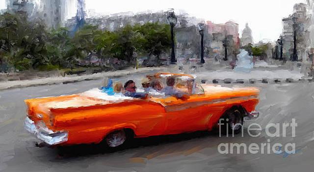 Havana Cars Dos by Sergio B